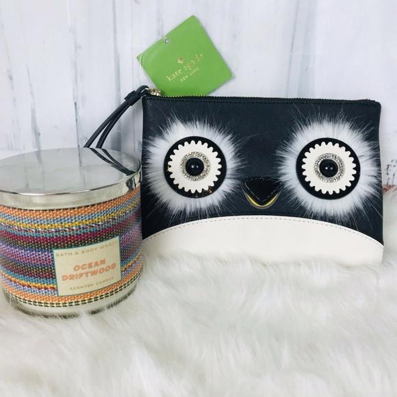 kate spade Handbags - Kate Spade Dashing Beauty Penguin Willa Wristel